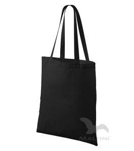 textilná taška čierna