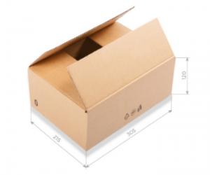 kartónové krabice s vlastnou grafikou